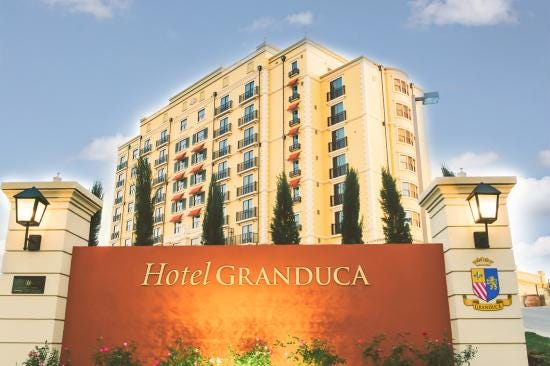 Hotel Granduca Austin has been purchased by Irvine, Calif.-based Pacific Hospitality Group.