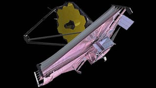 The James Webb space telescope is scheduled to launch in October and aims to find the first galaxies that formed in the early universe.