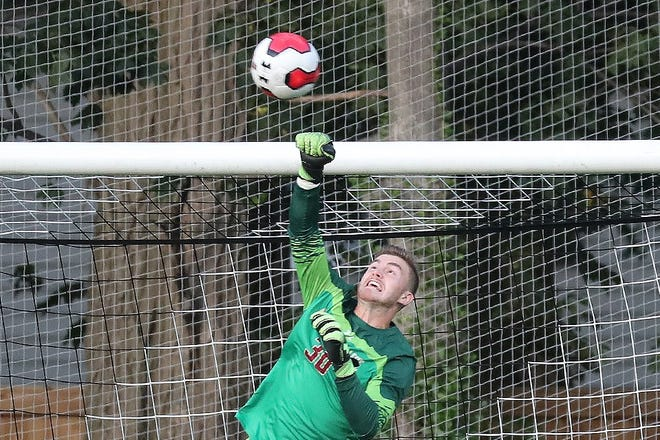 "Christian Garner ""was a goalkeeper from Day 1, and a good one. He had soft hands, and that's what you want out of a goalie,"" according to ,"" Nauset head coach  John McCully, who coached Garner in club soccer years ago."