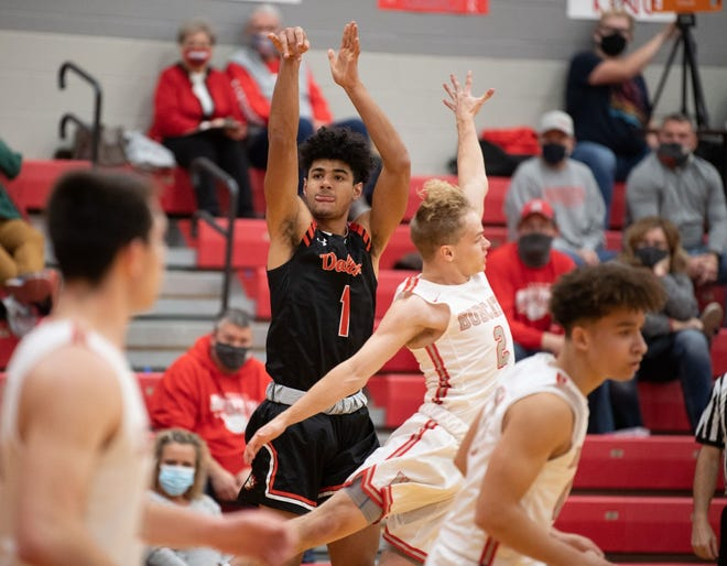 Dalton's Jalen Wenger earned first-team All-Ohio honors after leading the area in scoring and propelling the Bulldogs to a WCAL title.