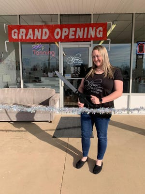 Karri Radford Gaskins opened Grace Salon, Tanning & Boutique in the Midway Town Center shopping center on Dec. 14.