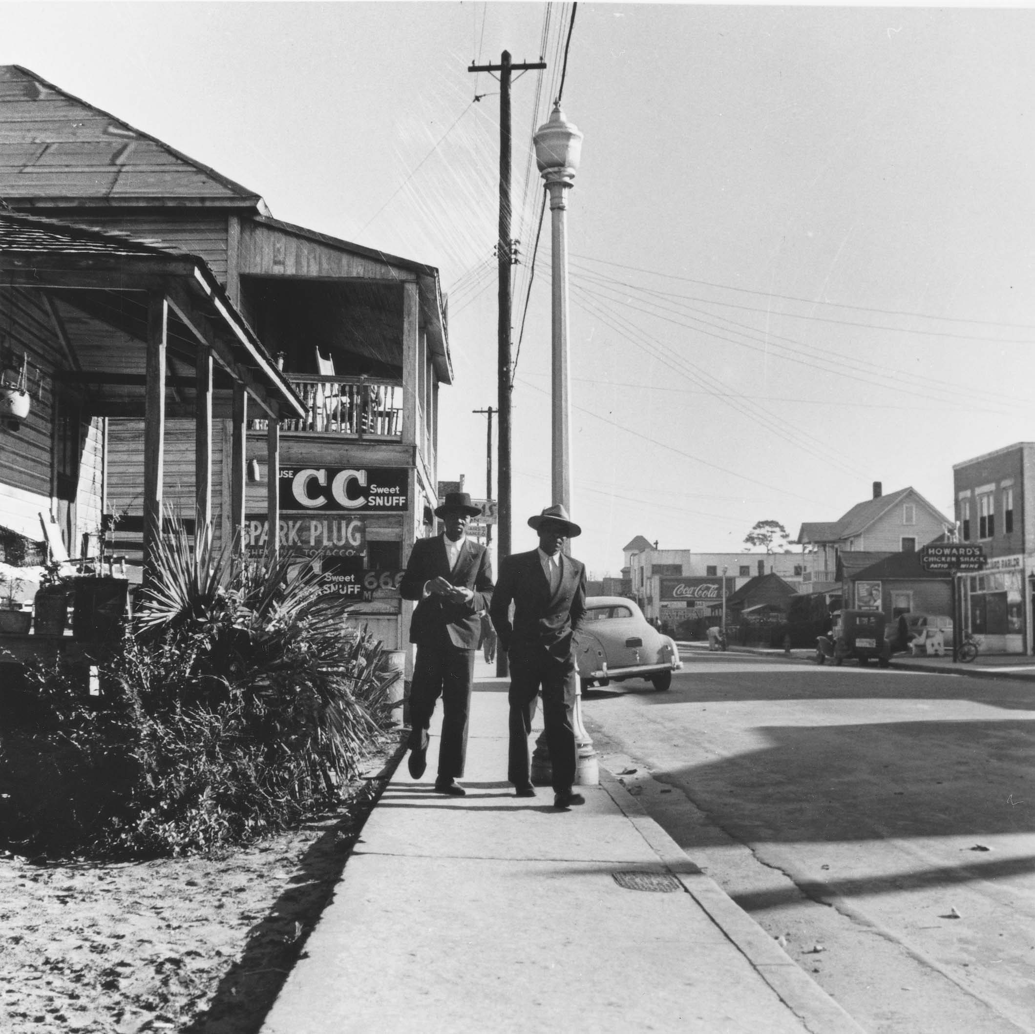 Daytona Beach's Black residents could find everything they needed on Mary McLeod Bethune Boulevard from the early 1900s until about 1970. (Gordon Parks, Southeast Museum of Photography at Daytona State College & the Library of Congress)