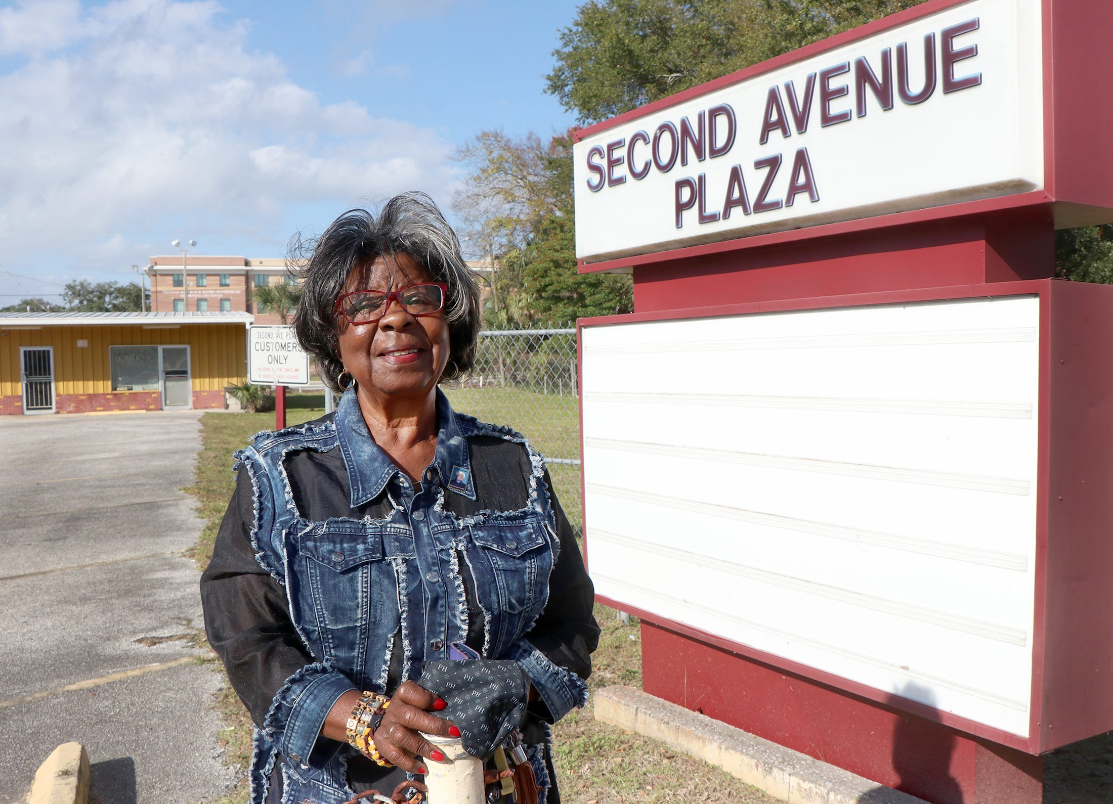 Patricia Heard, owner of the Second Avenue Plaza on Mary McLeod Bethune Boulevard, hopes to see the corridor improved and restored to something closer to what she remembers from her years growing up in the neighborhood when the street thrived.