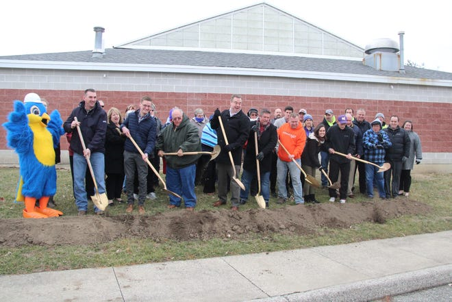 City leaders break ground for the new Kirksville Aquatic Center this past February.