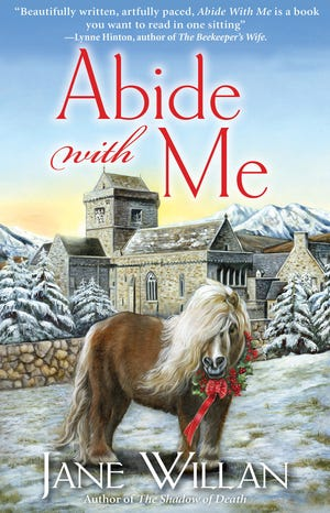 'Abide with Me' is the third in a detective series by Paxton's Jane Willan.