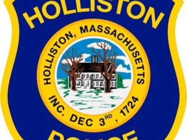 Holliston police have charged a Milford man with driving drunk after an accident Wednesday night on Washington Street.
