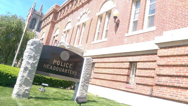 Framingham police headquarters on Union Avenue.