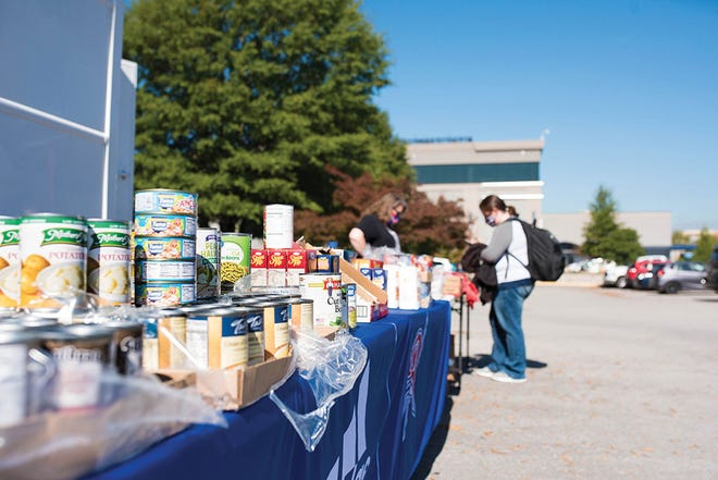Roane State launched 'Food Pantry On-the-Go' events to bring food and other supplies directly to students so they could stock up before the holidays.
