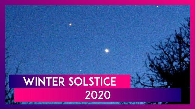 It's Winter Solstice on December 21. Traditionally Winter Solstice marks the beginning of Christmas and New Year celebrations worldwide.
