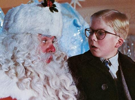"Peter Billingsley starred in Jean Shepherd's ""A Christmas Story"" in 1983. TBS shows a 24-hour marathon of the movie every Christmas."