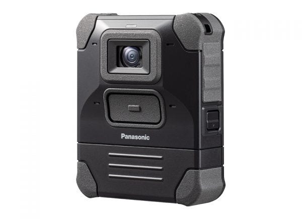 Example of a body-worn camera.