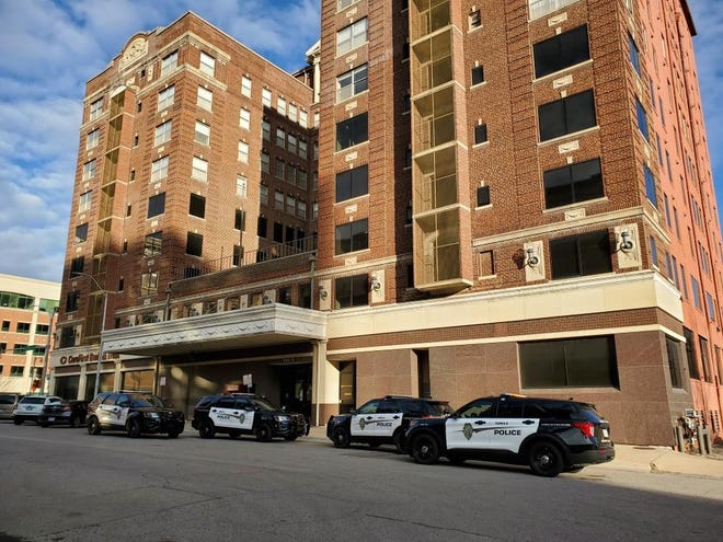 Topeka Police have arrested two men Thursday morning after they were accused of trying to break into The Capital-Journal.