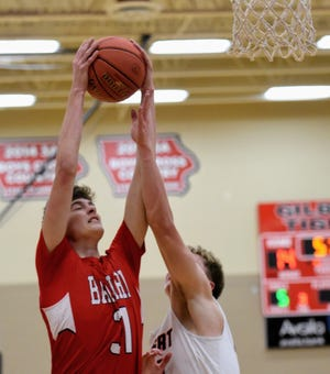 Kade Miller had nine points and 10 rebounds off the bench for No. 4 Ballard in a 76-39 victory at Gilbert Dec. 22.