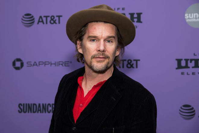 In this Jan. 27 file photo, Ethan Hawke attends a premiere at the 2020 Sundance Film Festival in Park City, Utah.