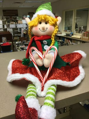 Meet Paige, a seasonal helper at the Newcomerstown Library.