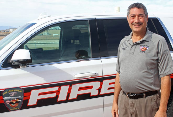 Pueblo West Fire Chief Brian Caserta is ready to oversee the fire department expansion thanks to the passage of a 1% sales tax by district voters.