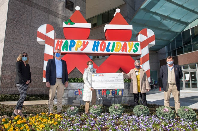 Monroe Carell Jr. Children's Hospital at Vanderbilt received a $315,000 donation from Twice Daily.