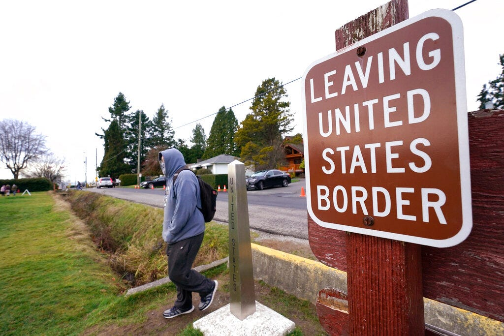 US borders with Canada and Mexico to remain shut until March 21, marking full year of closures