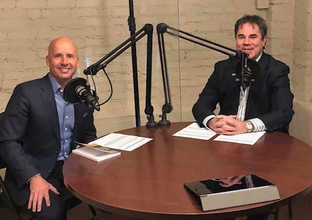 The Biz & Tech Podcast with Jimmy Fasig and Blake Dowling in November 2020.