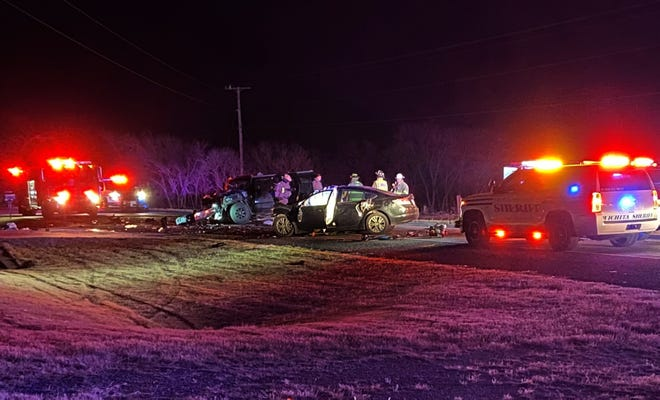 Wichita County Deputies and DPS Troopers worked the scene of a fatal accident Wednesday night on FM 369.