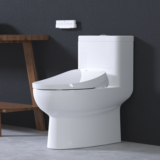 The self-sanitizing Discovery DLS Bidet Seat ($899) also has a heated seat and warm air dryer, which eliminates the need for any toilet paper.