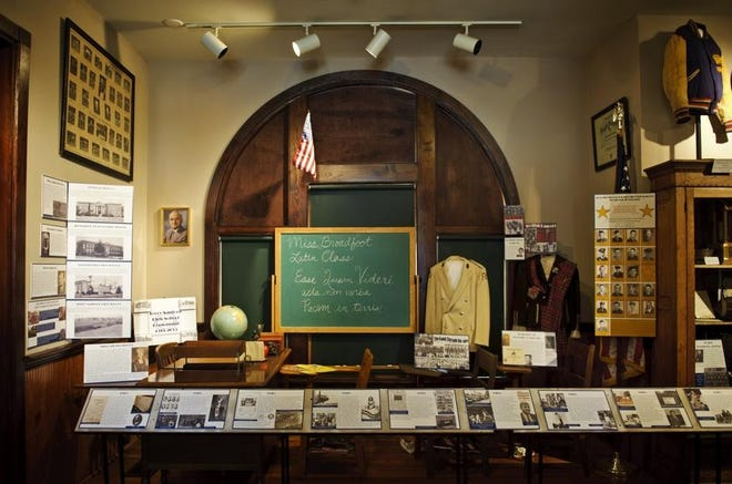 The Fayetteville Area Transportation and Local History Museum is located at 325 Franklin St.