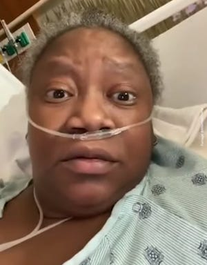 Susan Moore berbicara dalam video yang dia rekam tidak lama sebelum kematiannya berbicara tentang kegagalan pengobatan.