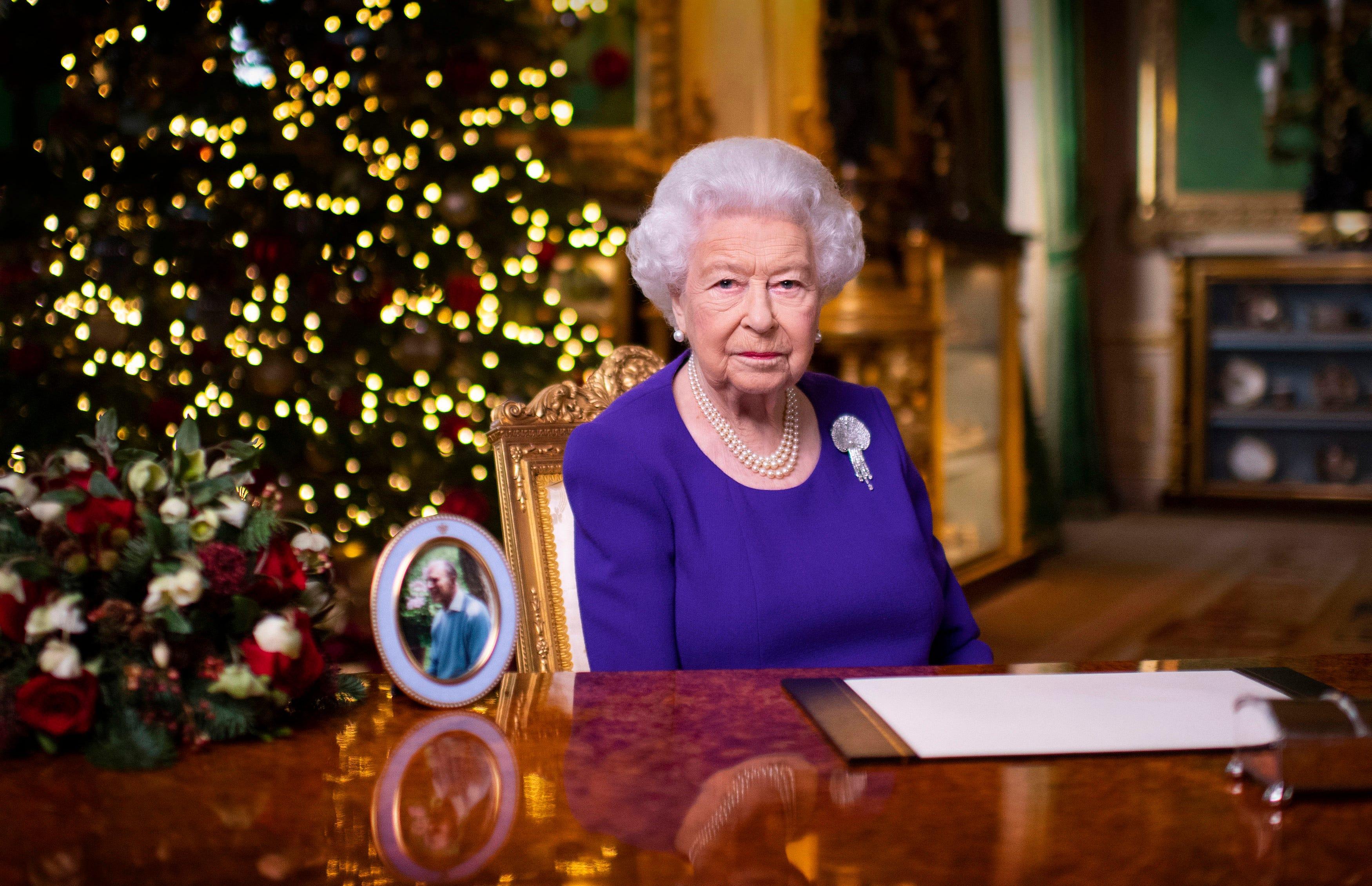 Queen Speech Christmas 2021