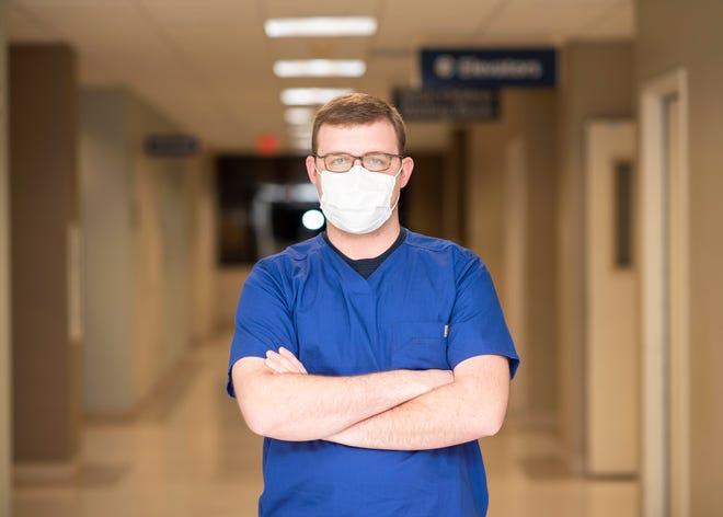 Tyler Dixon, registered nurse at the Northwest Texas Healthcare System
