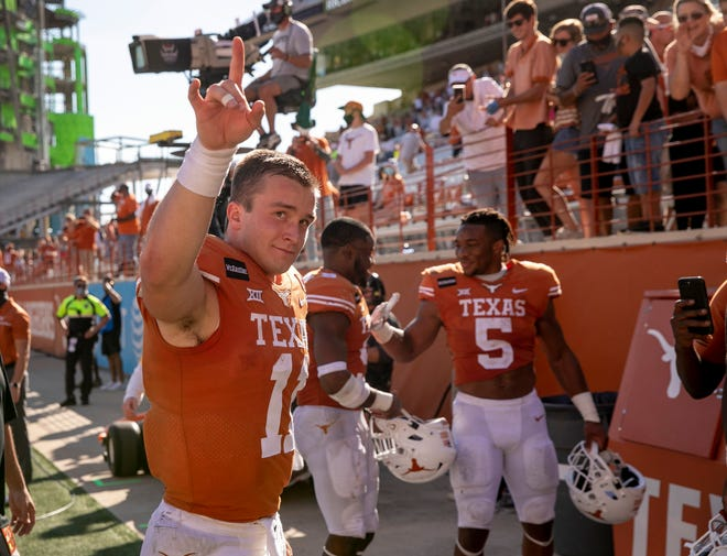 Tuesday night's Alamo Bowl may be Texas quarterback Sam Ehlinger's final game with the Longhorns ... unless he decides to come back for the extra season the NCAA has allowed because of the pandemic. Ehlinger hasn't said what he'll do.