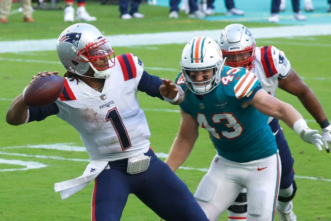 Asked again this week if he would stick with quarterback Cam Newton, who was the 2015 NFL MVP but this year has five touchdown passes and 10 interceptions, coach Bill Belichick declined to answer.