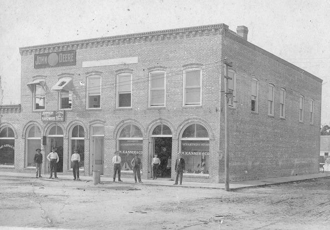 The Tribune Building, on the southwest corner of Moody Boulevard and Bay Street, was built in late 1912 and was the home of the St. Johns Tribune, a weekly publication edited by Joseph Barrett Boaz that published its first edition on Feb. 6, 1913. A brick addition to the main building was built in the summer of 1913.