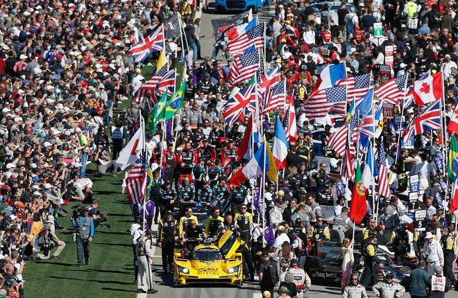 The typical Rolex 24 pre-race pageantry will look different this year due to COVID-19.