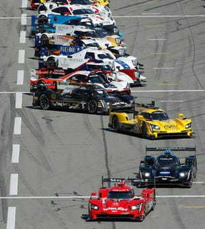 Fifty cars will make the trip to Daytona next week for the Roar Before the Rolex 24.