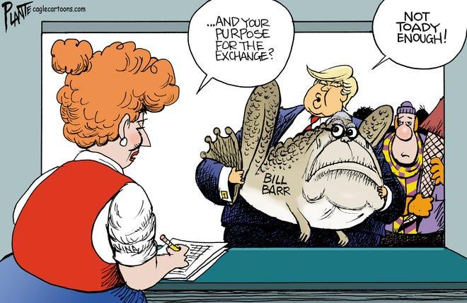 Today's editorial cartoon (Dec. 27, 2020)