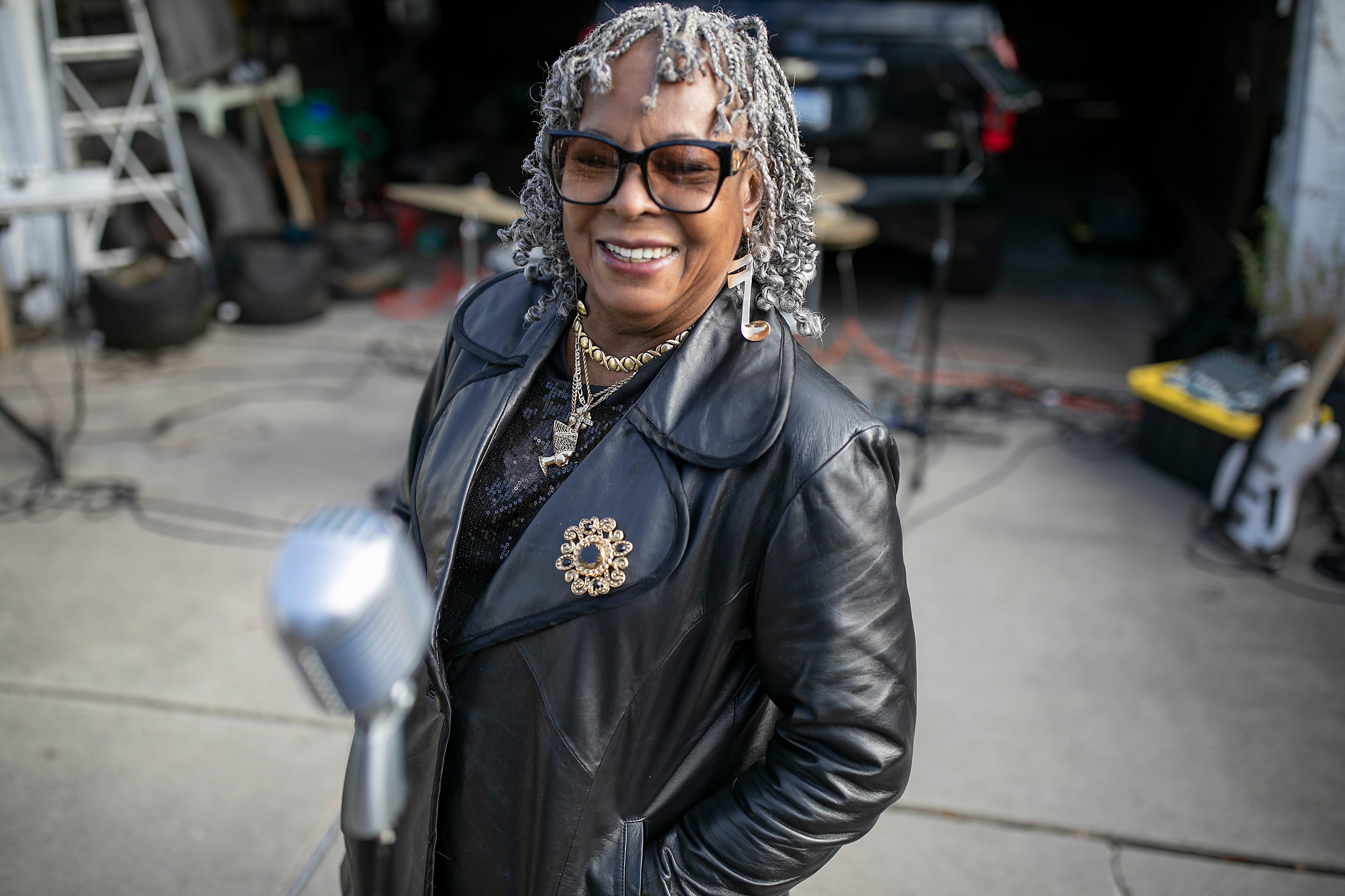 Legendary Motown recording artist Martha Reeves poses for a portrait in Detroit Monday, Nov. 16, 2020.