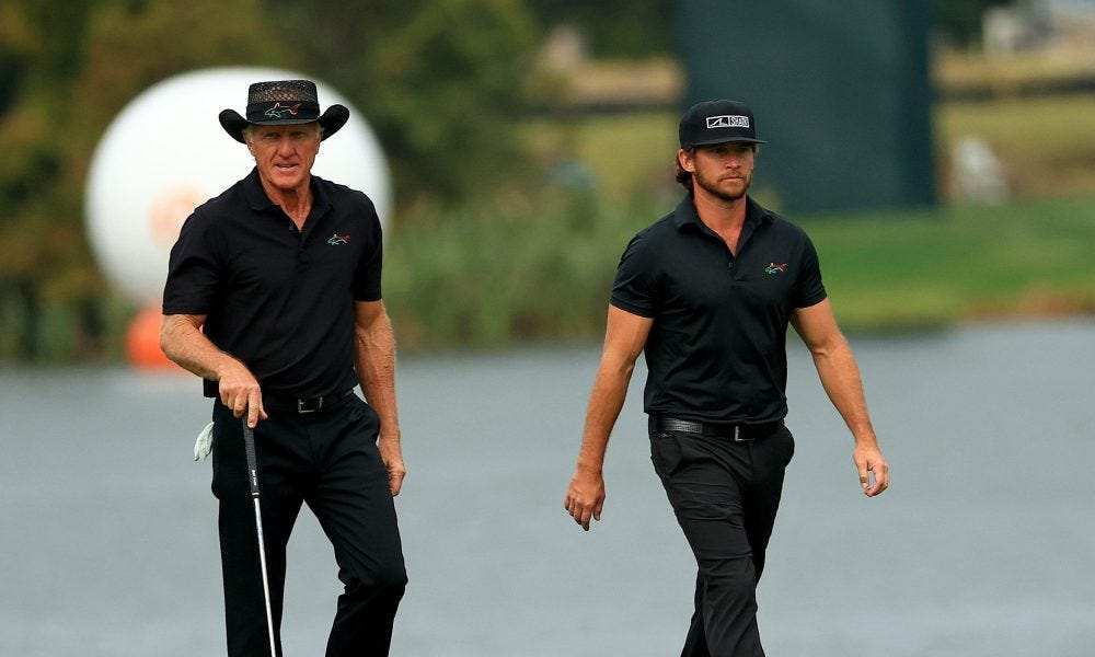 Golfer Greg Norman hospitalized with COVID-19 symptoms