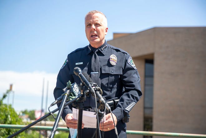 Police Chief Brian Manley responded to KVUE's tweet on Sunday morning about him testing positive for COVID-19. According to KVUE, Manley has been in quarantine since Wednesday, Dec. 23.