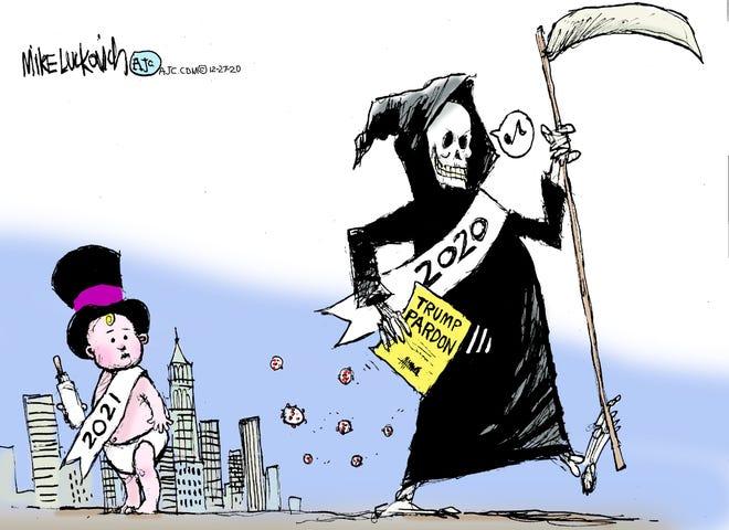 Today's editorial cartoon (Dec. 28, 2020)