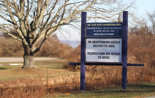 The former Carr Point shooting range is now a recreational area off Burma Road in Portsmouth.