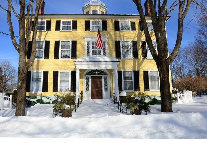 The Captain Lord Mansion located in Kennebunkport will be selling off its contents in early January.