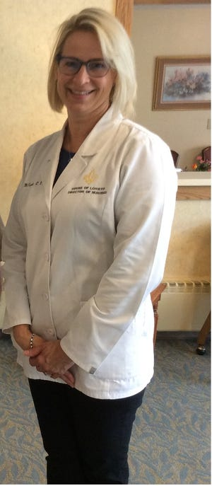 """Bobbi McKnight,  consultant to nursing services at House of Loreto in Canton, is among The Canton Repository's """"Unsung Heroes."""" McKnight, however, deflected attention and said the staffs of all nursing facilities and hospitals are collectively unsung heroes for their tremendous efforts in the fight against COVID-19."""