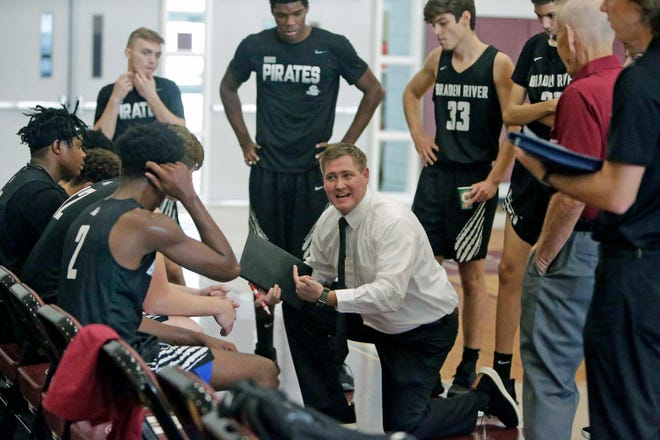 The Braden River High boys basketball team will play host Riverview High in the fourth and final game Monday during the first day of the Suncoast Holiday Classic at 7 p.m.