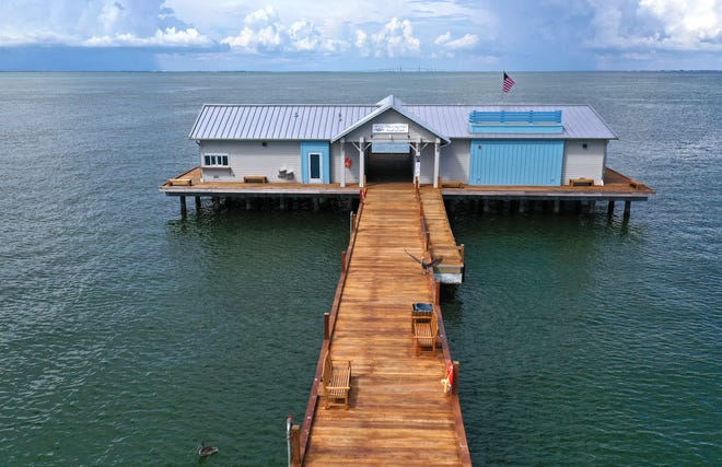 TheCity Pier Grill & Bait Shop opened to the public in December, but the City of Anna Maria still has about 1,800 square feetof space available for rent.