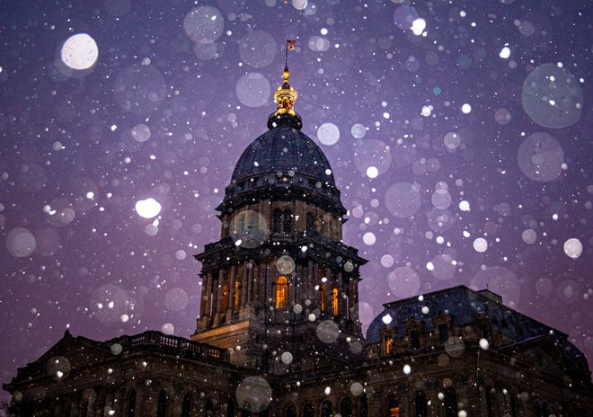 Central Illinois drivers might be confronting icy conditions late New Year's Eve and into the first few hours of the New Year, according to the National Weather Service.