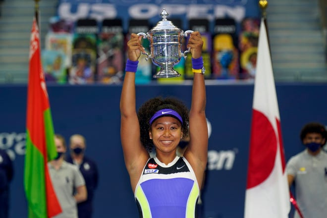 Naomi Osaka has been selected by The Associated Press as the Female Athlete of the Year.