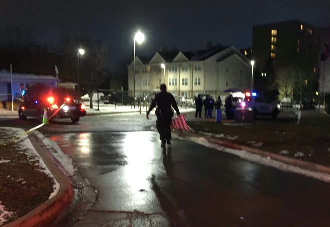 Police at scene of Inkster apartment complex for reports of gunman, high-speed chase