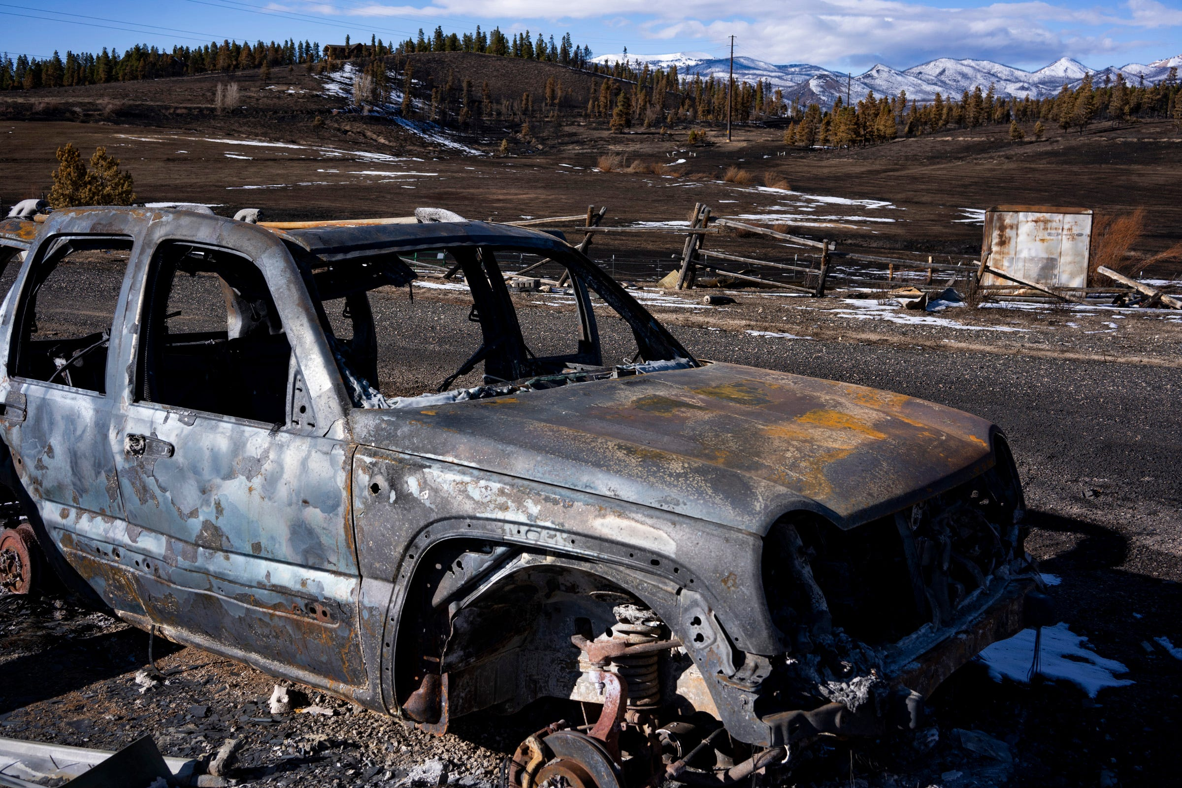 The East Troublesome Fire spread rapidly through forests in high winds and reduced homes to ashes near Granby, Colorado. The fire charred more than 193,000 acres and became the second-largest wildfire in Colorado history.