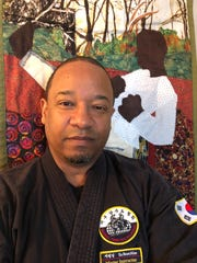 Renard Beaty, 58, owner of Kick Start Martial Arts in Atlanta, Georgia.