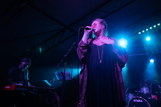 Kelsey Wilson of Sir Woman performs at Mohawk in 2019. She'll take the stage at ACL Fest in October.